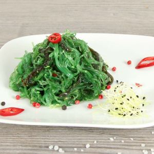 Wakame Seegras-Salat